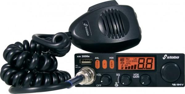 Stabo xm 3006e vox 12/24 Volt Freisprech USB CB Funkgerät