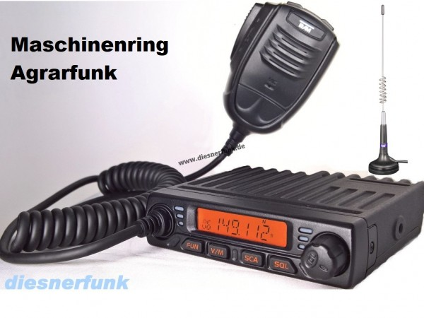 Team MiCo Agrarfunkgerät Maschinenring VHF mit Magnetantenne