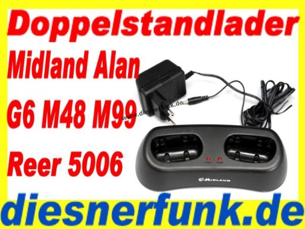 Midland / Alan Doppelstandlader CA-G6 für M48 M99 G6 reer 5006 S