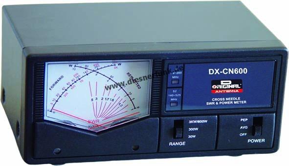 Team DX-CN 600 Professionelles SWR PWR Kreuzanzeigeinstrument