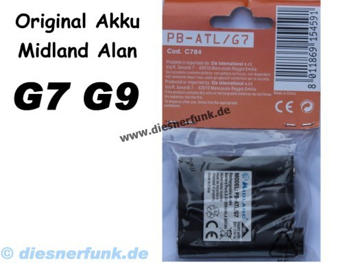 Original AKKU MIDLAND ALAN G7 G9 ATLANTIC PACIFIC BASE CAMP PB-A