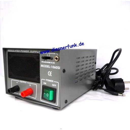 CB Funknetzteil mit Lautsprecher Noise 6-8A 13,8V
