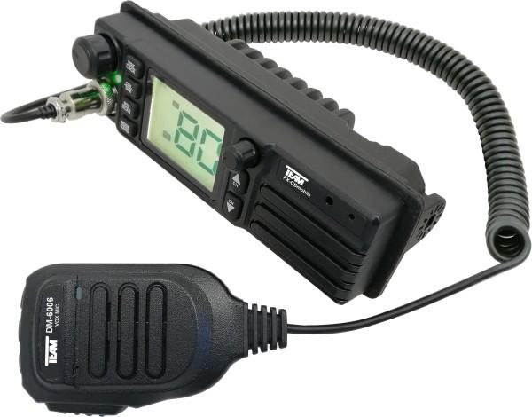 Team FX-CB mobile Freisprech CB-Funkgerät Multinorm 12/24V DIN