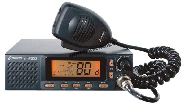 Stabo XM 5006E-R Multinorm CB-Gerät 12/24V inkl. Einbaurahmen