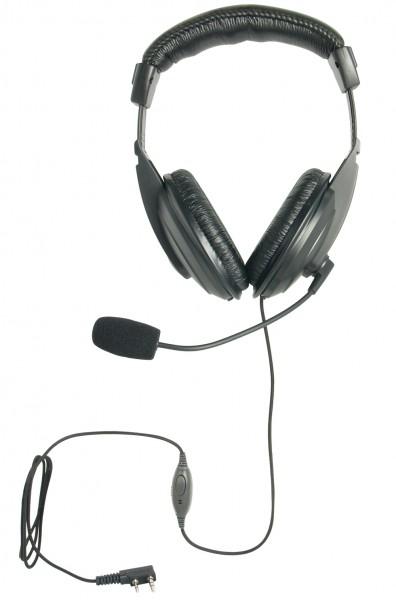 H&G-420-TC Kopfhörer mit flexiblem Rüsselmikrofon