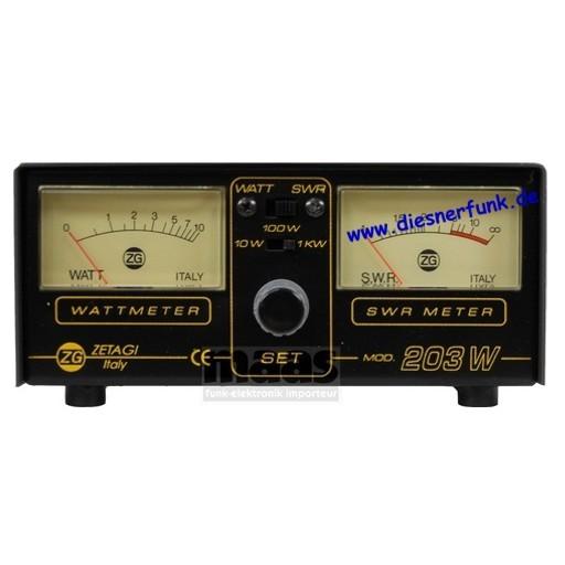 ZETAGI HP 203 SWR-PWR Meter