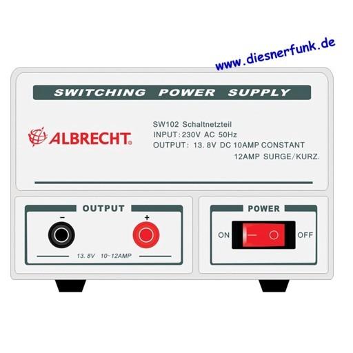 Albrecht Schaltnetzteil SW 102, 10-12 A, 13,8 V