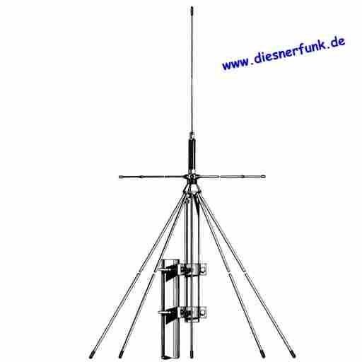 Albrecht Allband Scanner Antenne Basis sendefähig