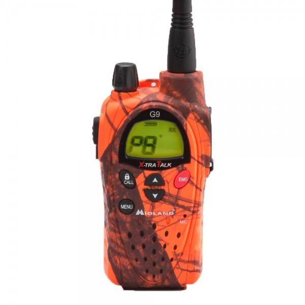 Midland G9 PLUS Blaze Tarnfarben PMR & LPD Funkgerät