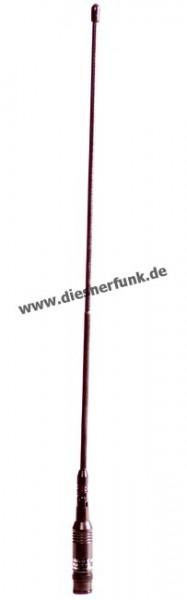 NA 772 VHF/UHF Aufsteckantenne BNC Knickgelenk 41cm