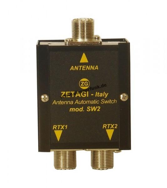 ZETAGI SW-2 automatischer Antennenschalter 2-fach
