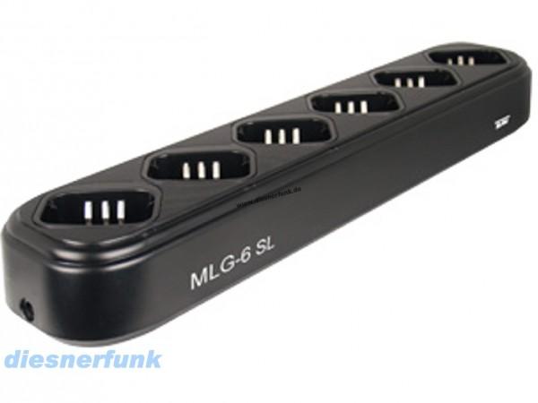 6 fach Standlader MLG 6-SL für Team TeCom-SL intelligent Akku sc