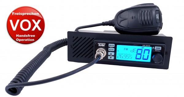 TEAM VX-2412 DIN Frontlautsprecher Freisprechen VOX CB Funkgerät