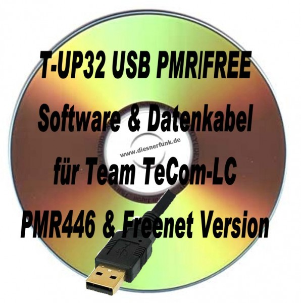 TEAM T-UP32 Programmierkabel & Software für TeCom-LC PMR/Freenet