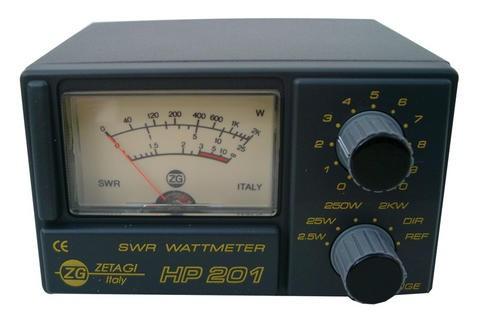 ZETAGI HP 201 SWR-PWR Meter