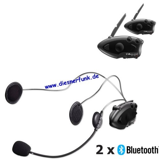 MIDLAND BT Next Twin Bluetooth Headset Motorradhelme drahtlos