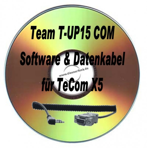 TEAM T-UP15 Com Programmierkabel & Software für Team TeCom X5