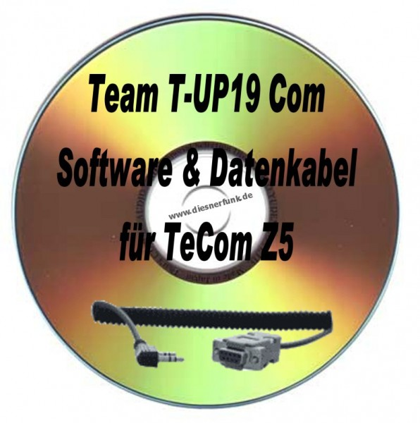TEAM T-UP19 Com Programmierkabel & Software für Team TeCom Z5