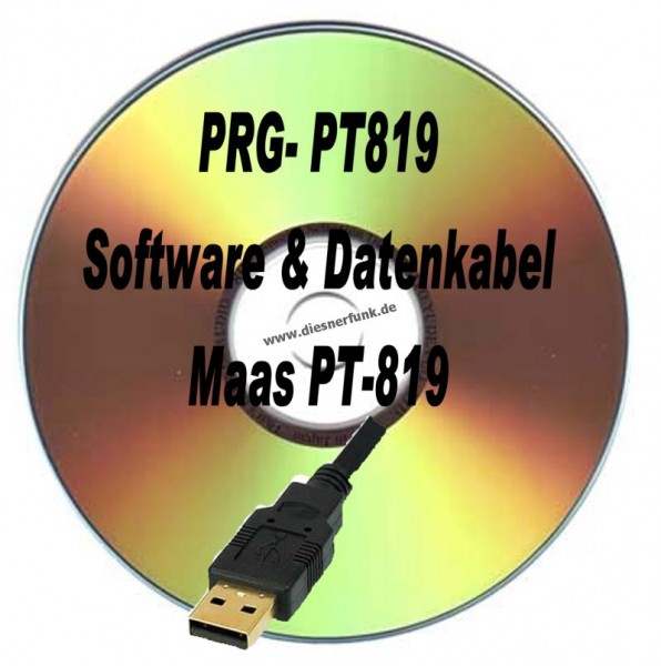 MAAS PT-819 Programmierkabel + Software