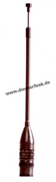 NA-626 VHF/UHF Aufsteckantenne BNC Ausziehbar 15-21cm