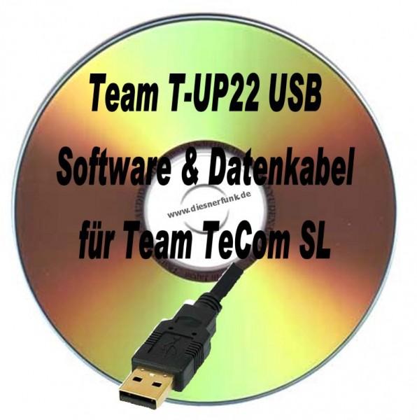TEAM T-UP22 USB Programmierkabel & Software für Team TeCom SL