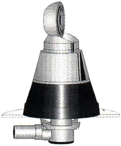 DV-S Antennenfuß flacher Einbau