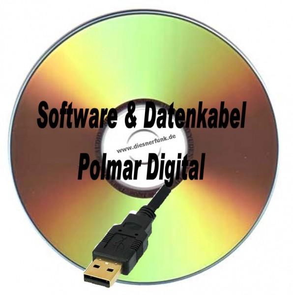 Polmar Digital USB Programmierkabel + Software