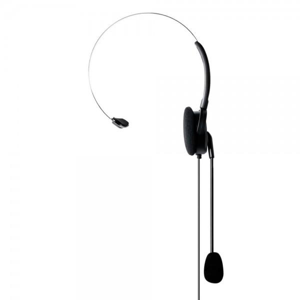 MA 35L Kopfhörer mit Schwanenhalsmikrofon S-Norm L-Stecker