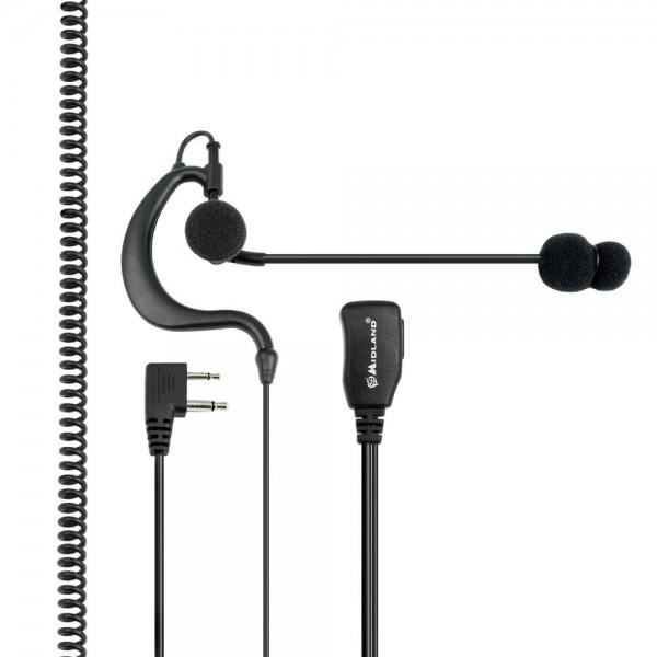 ABM Kopfhörer und Mikrofon S-Norm L-Stecker