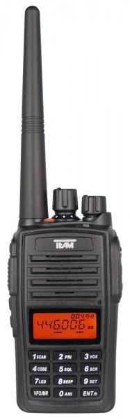 Team TeCom IPX5 16 Kanal PMR446 Funkgerät 446Mhz IP67 Schutz