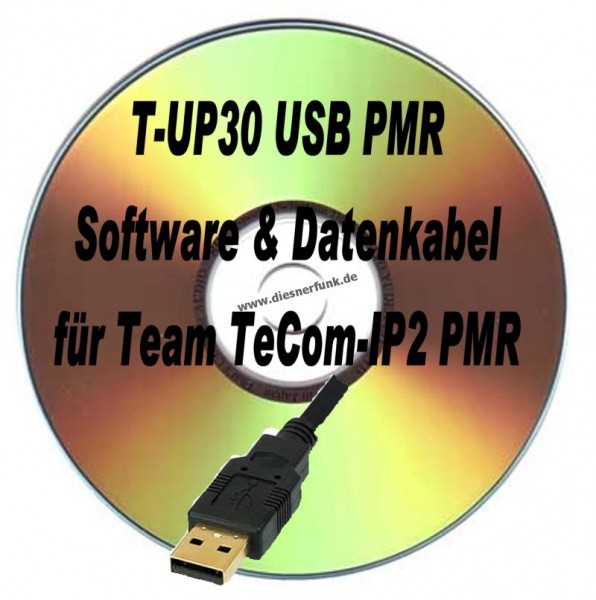TEAM T-UP30 Programmierkabel & Software für Team TeComIP2 PMR