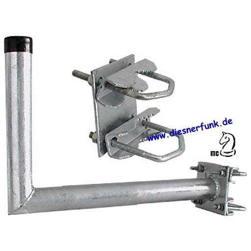 Wandhalter mit Zahnschelle 250mm
