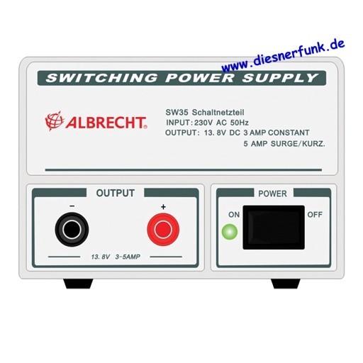 Albrecht Schaltnetzteil SW 35, 3-5 A, 13,8 V