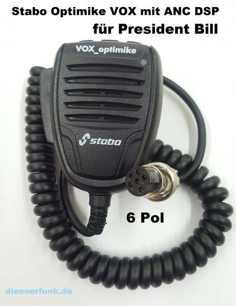 Stabo VOX-Optimike Freisprecheinrichtung mit DSP & ANC für President BILL