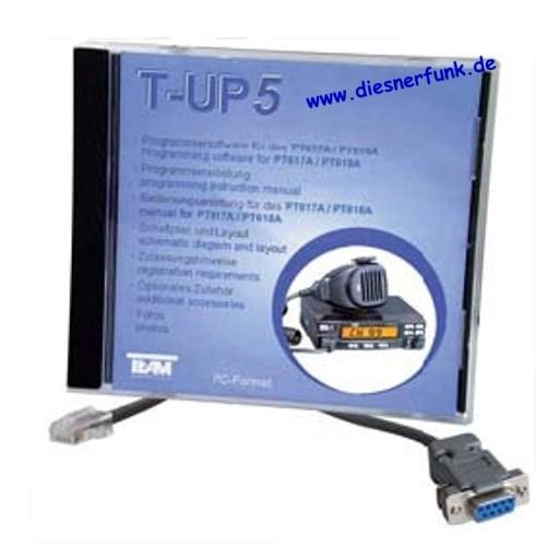 Team T-UP5 PC-Programmiersoftware PT 617A PT 618A
