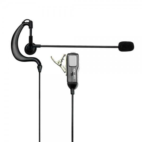 MA 30-L Kopfhörer und Mikrofon VOX PTT S-Norm L-Stecker